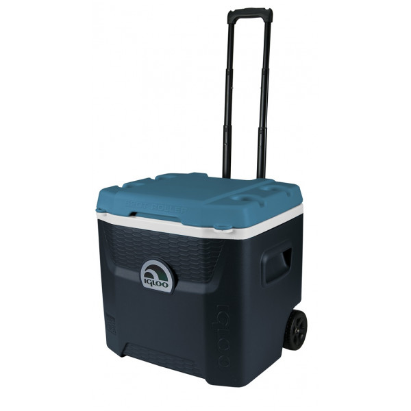 Maxcold Quantum 52 Roller Coolbox - Blue