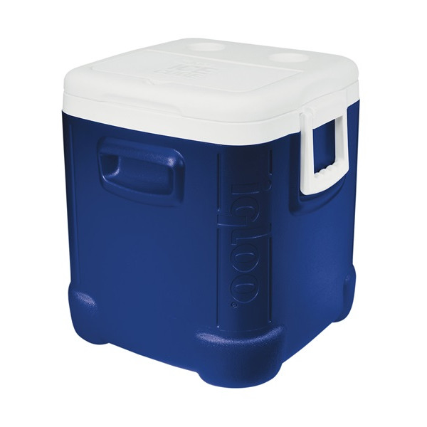 Ice Cube 48 Coolbox - Blue/White