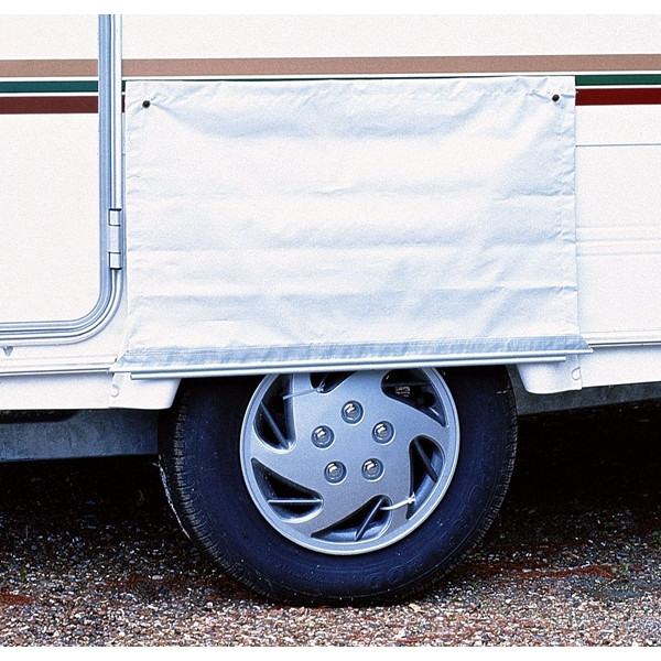 Awning Skirt Wheel Cover With Figure Of 8 Fixings - Single Length