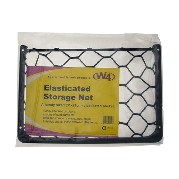 Elasticated Storage Net - Wall Mounted - 30cm x 17cm