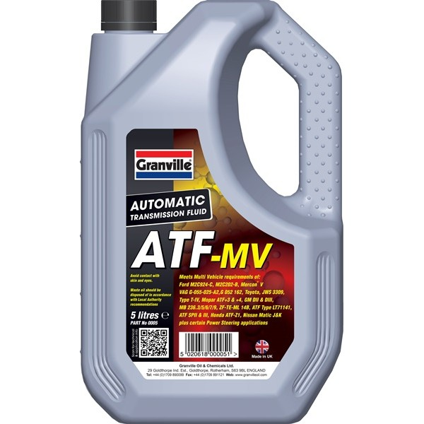 Granville ATF-MV 5 litre