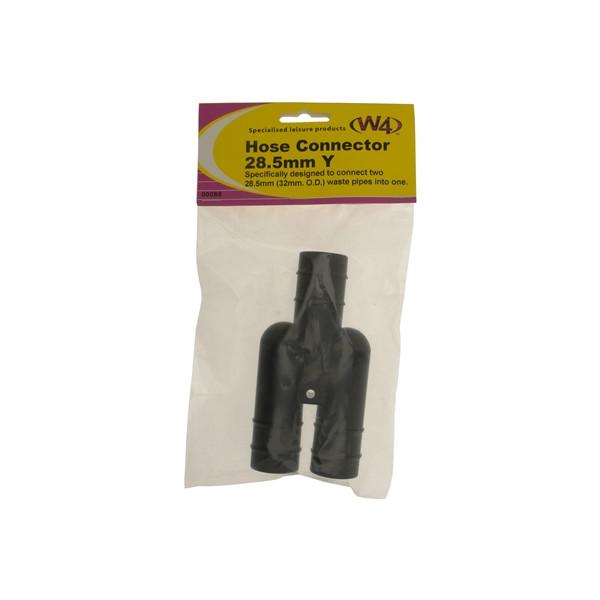 Single Piece Y Connector 2 into 1 - 28.5mm