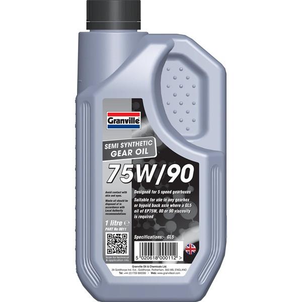 EP 75W-90 Gear Oil - 1 Litre