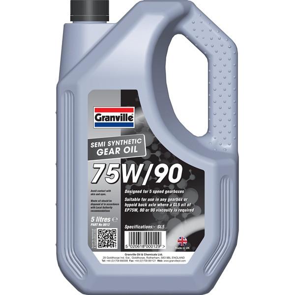 EP 75W-90 Gear Oil - 5 Litre