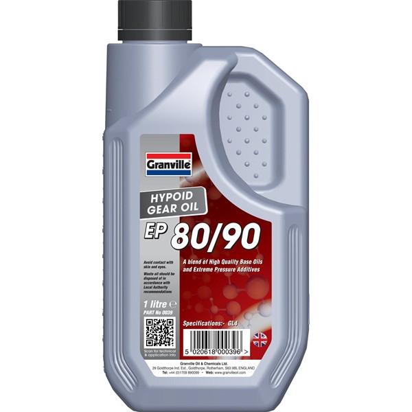 EP 80/90 Hypoid Gear Oil - 1 Litre
