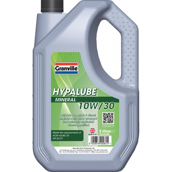 Hypalube Mineral Oil 10W30  - 5 litre