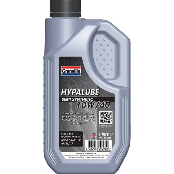Hypalube 10W40 Semi Synthetic -1 Litre