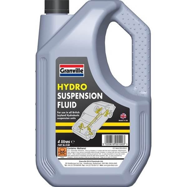 Hydro Suspension Fluid - 4 Litre