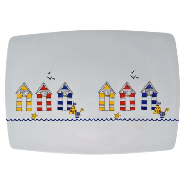 Seashore Platter - Pack of 6