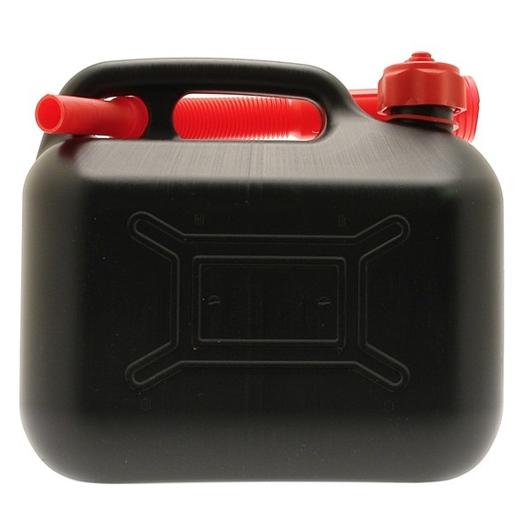 Diesel Fuel Can - Black Plastic - 5 Litre