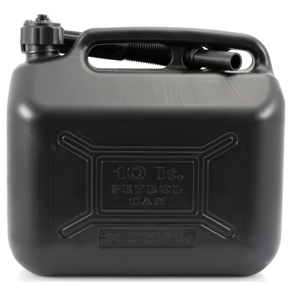 Diesel Fuel Can - Black Plastic - 10 Litre