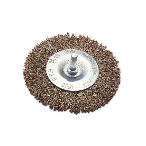 Wire Brush - Flat Type - 4in./100mm