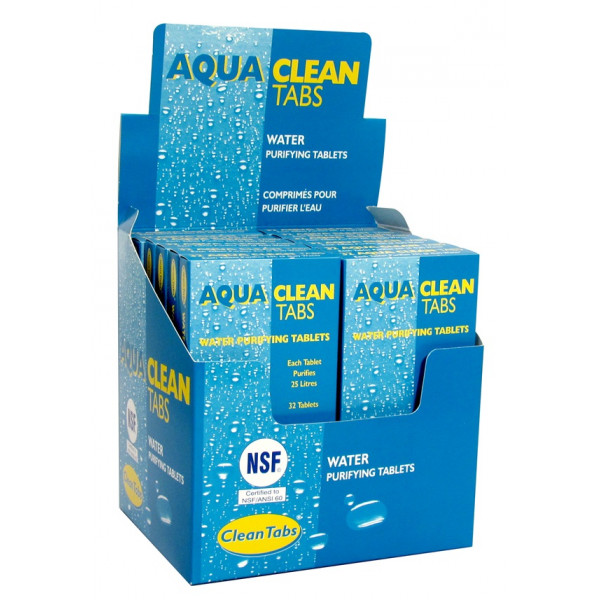 Aqua Clean Purifying Tablets - Pack of 12
