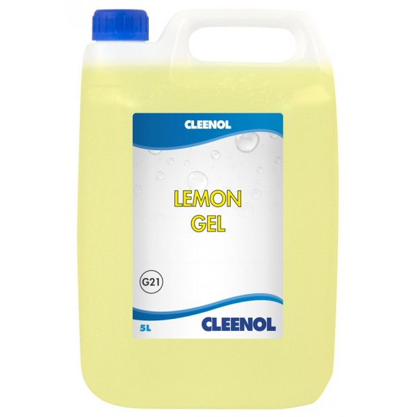 Lemon Gel Floor Cleaner - 5 Litre