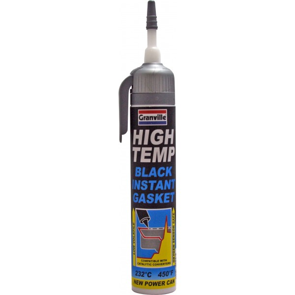 High Temperature Instant Gasket - Black - 200ml