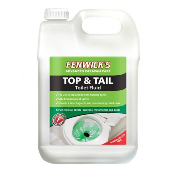 Top & Tail Toilet Fluid - 2.5 Litre
