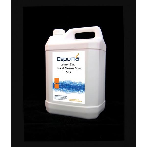 Lemon Zing Hand Cleaner - 5 Litre Pump