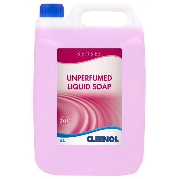 Senses Unperfumed Liquid Soap - 5 Litre