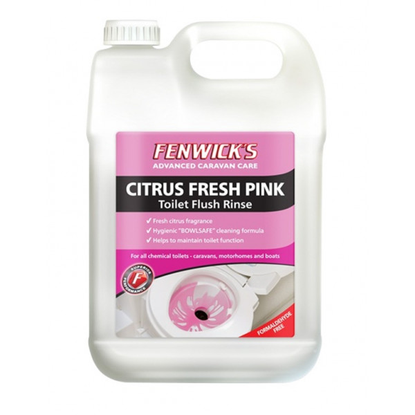 Citrus Fresh Toilet Fluid - Pink - 2.5 Litre