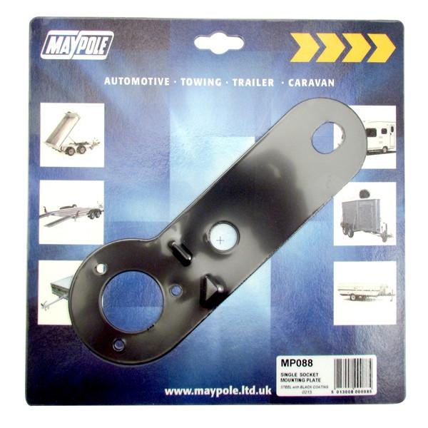 Mounting Plate - Single Socket