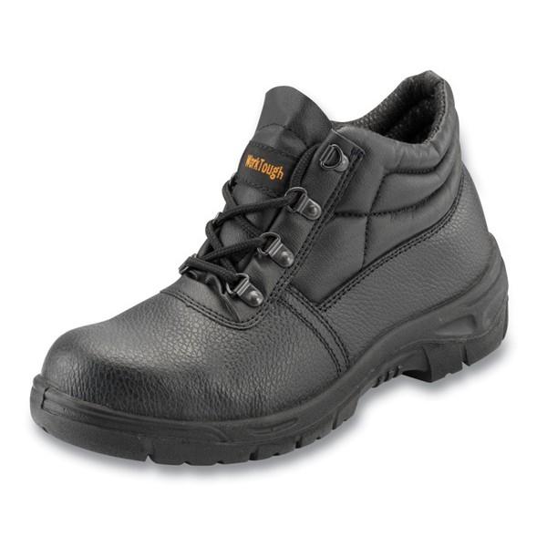 Safety Chukka Boots (Steel Midsole) - Black - UK 4