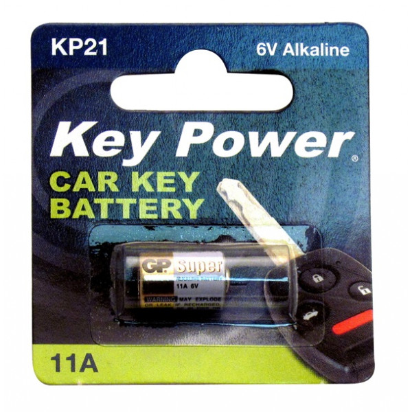 Coin Cell Battery 11A - Alkaline 6V - Box of 10