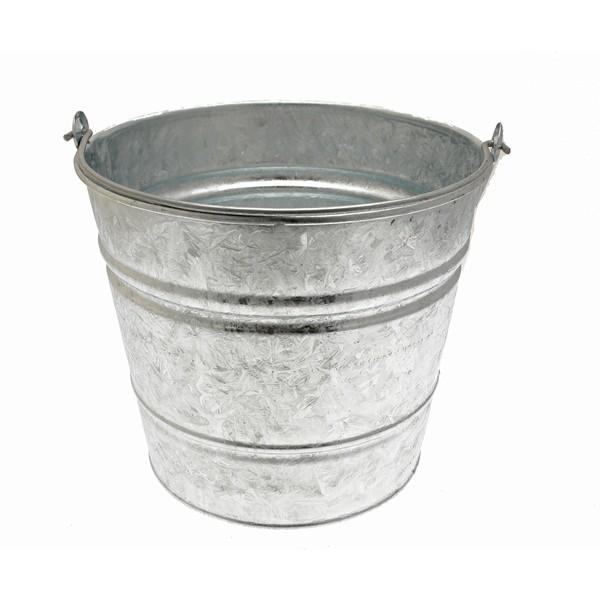 Galvanised Bucket - 14 Litre