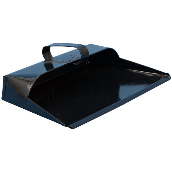 Metal Dustpan - Black