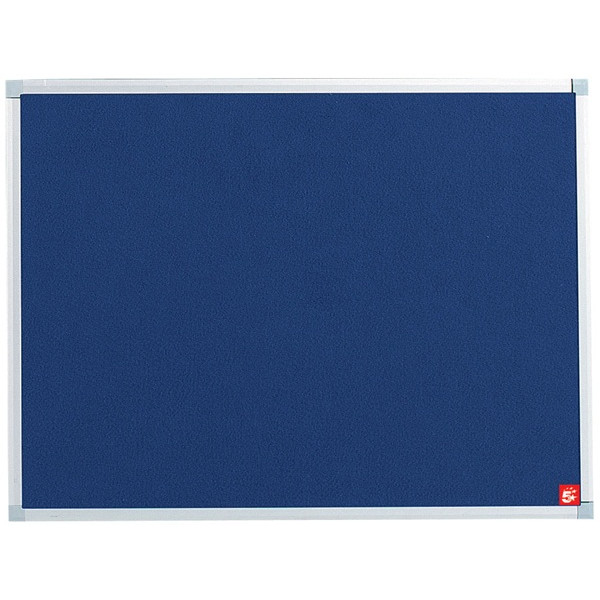 Noticeboard with Fixings - Blue - 900mm x 600mm