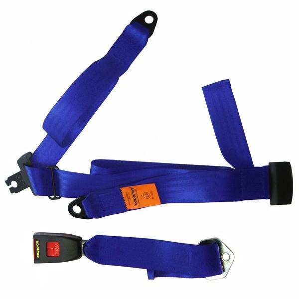 Seat Belt - Static Lap & Diagonal - Blue