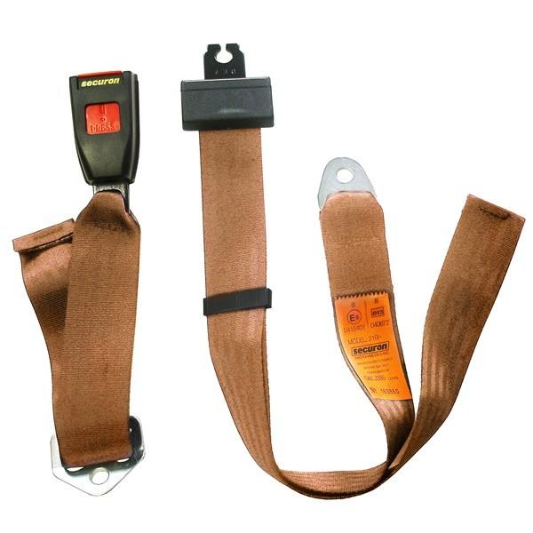 Seat Belt - Static Lap - Beige