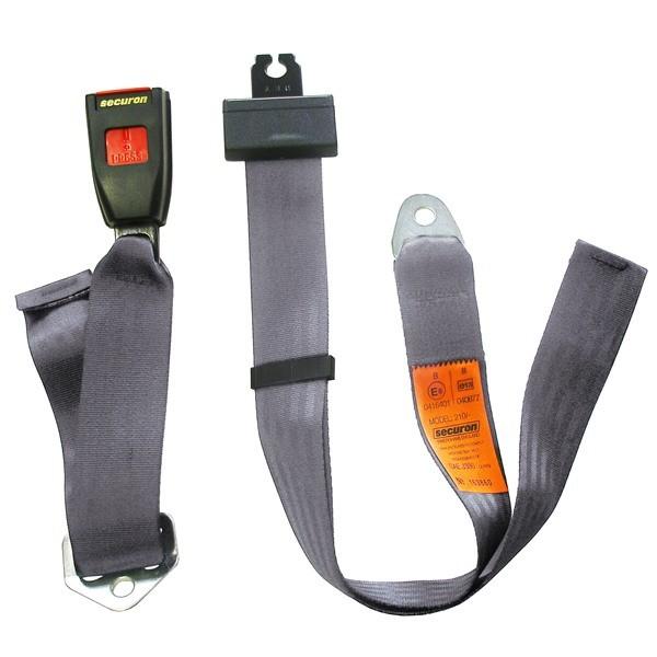 Seat Belt - Static Lap - Grey