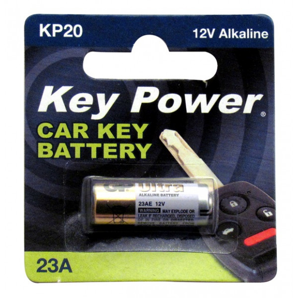Coin Cell Battery 23A - Alkaline 12V