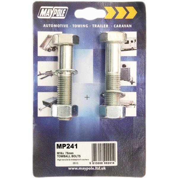 Nuts & Bolts - M16 -75mm