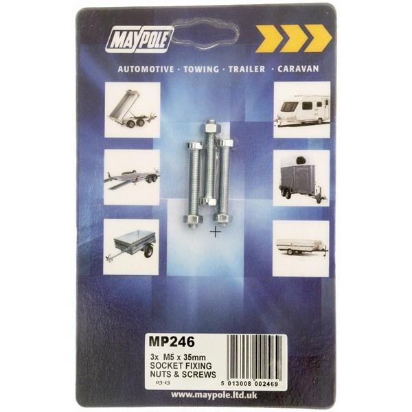 Socket Nuts & Bolts - M5 - 35mm