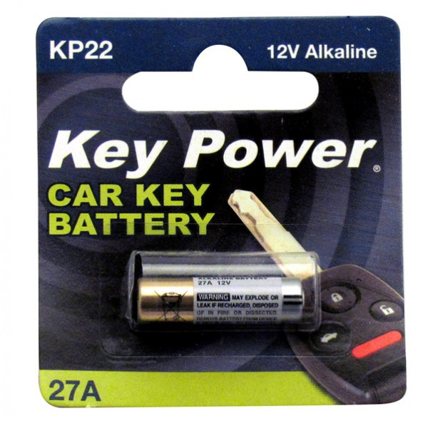 Coin Cell Battery 27A - Alkaline 12V - Box of 10
