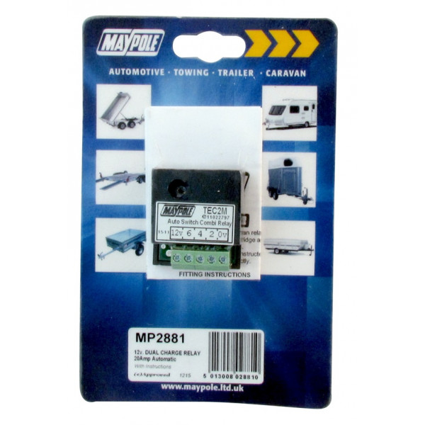 Automatic Dual Charge Relay - 15A