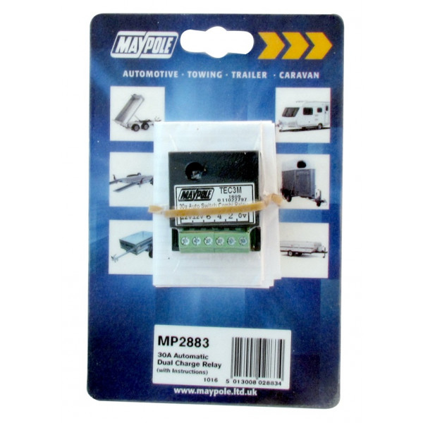 Automatic Dual Charge Relay - 30A