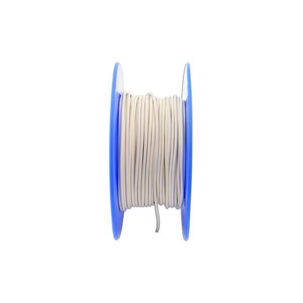 1 Core Cable - 1 x 14/0.3mm - White - 50m