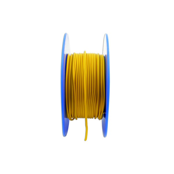 1 Core Cable - 1 x 14/0.3mm - Yellow - 50m