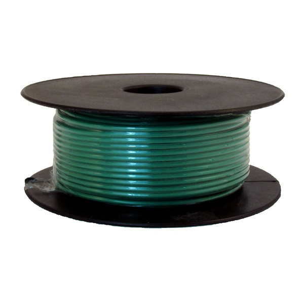 1 Core Cable - 1 x 28/0.3mm - Green - 50m