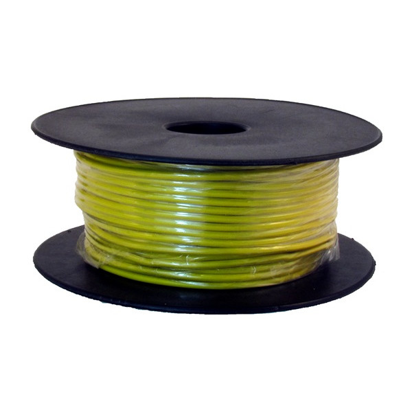 1 Core Cable - 1 x 28/0.3mm - Yellow - 50m