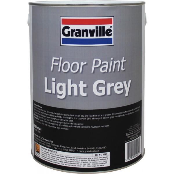 Light Grey Floor Paint - 5 litre