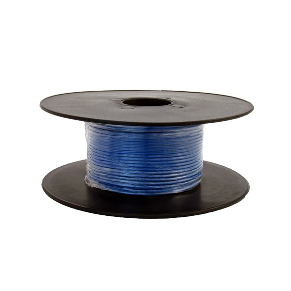 1 Core Thin Wall Cable - 1 x 32/0.2mm - Blue - 50m