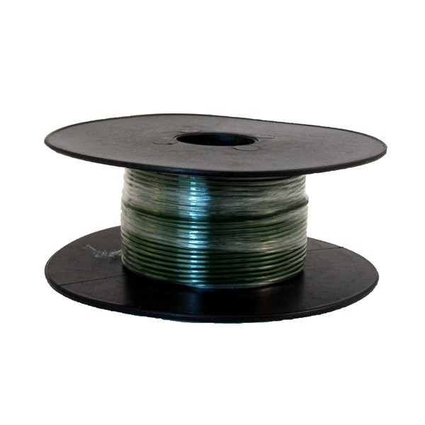 1 Core Thin Wall Cable - 1 x 32/0.2mm - Green - 50m