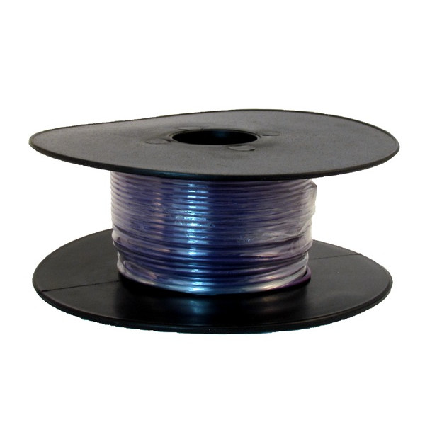 1 Core Thin Wall Cable - 1 x 32/0.2mm - Purple - 50m
