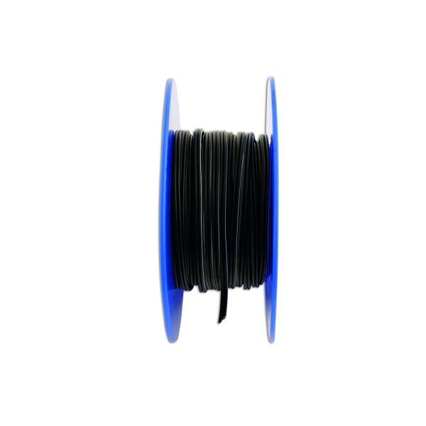 Twin Core Speaker Cable - 2 x 12/0.2mm - Black/White - 30m - 27.5A