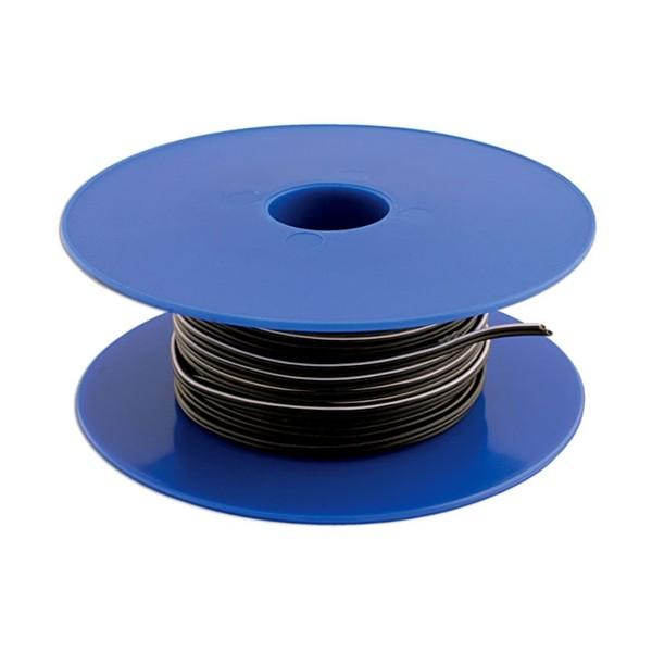Twin Core Speaker Cable - 2 x 12/0.2mm - Black/White - 100m - 27.5A