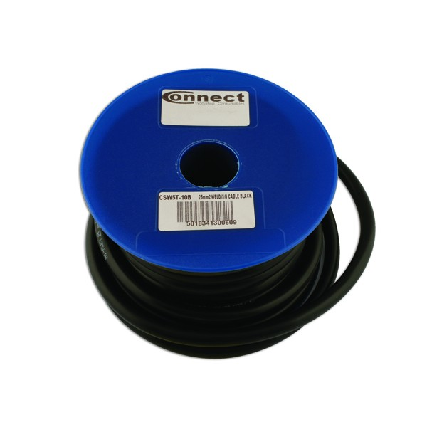 Battery Cable - Light Duty Black - 37/0.90 x 10m