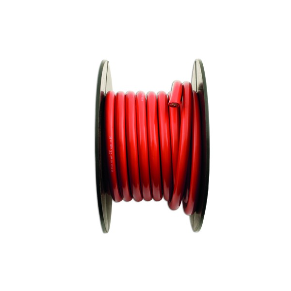 Battery Cable - Medium Duty Red - 315/0.40 x 10m
